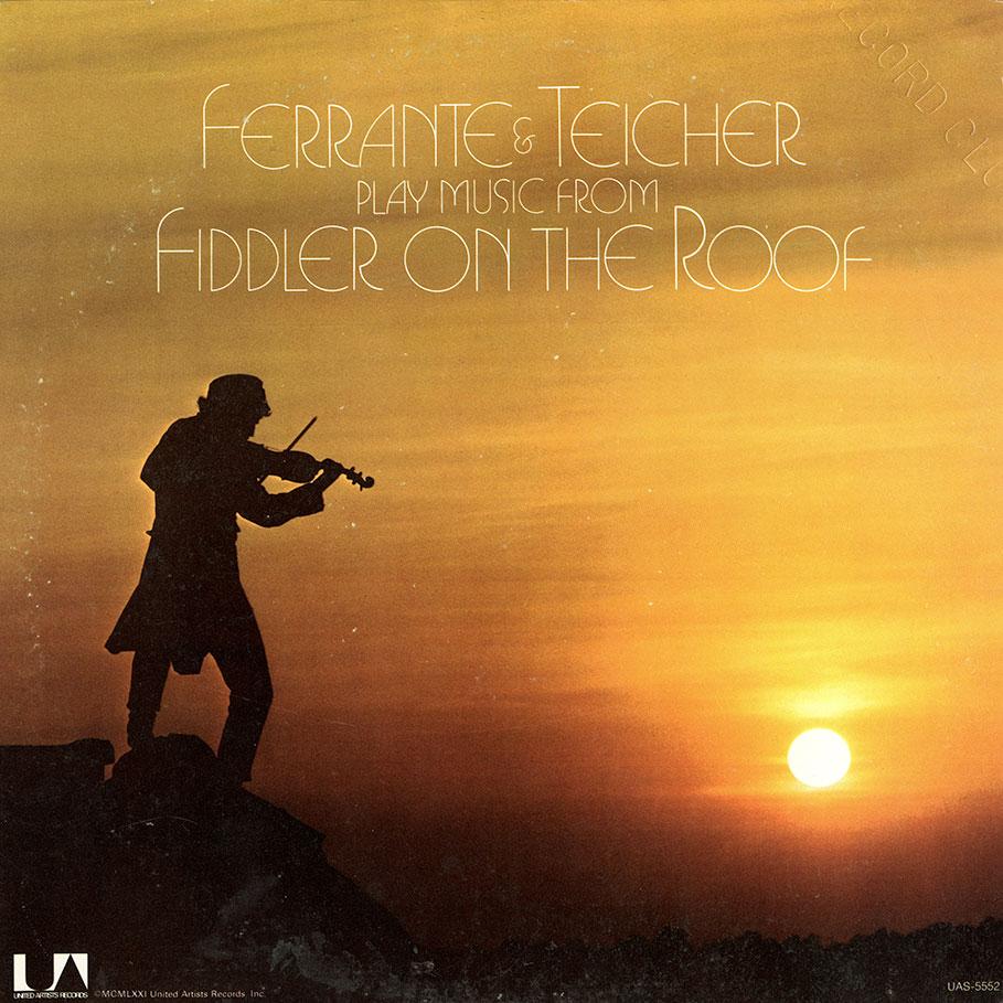 Ferrante Amp Teicher Album Fiddler On The Roof