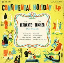 Ferrante & Teicher: Continental Holiday  (Columbia)