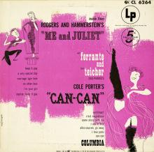 Ferrante & Teicher: Me and Juliet & Can-Can (Columbia)