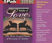 Ferrante & Teicher: Melodies of Love [5 CD, 60 track version] ()